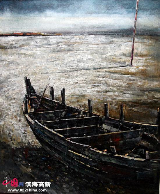 皇瑟网站要不用下载播改fj9�_木渔船的记忆 读油画家李玉伟的\