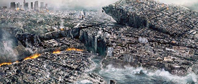 科学家预测世界末日来临时场景(组图)