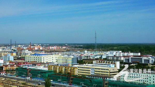 19省市媒体新疆生产建设兵团行(北疆线)——北屯(组图