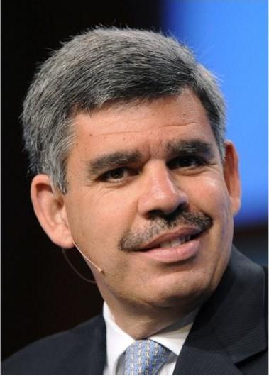 太平洋投资管理公司首席执行官和首席投资官穆罕默德?埃尔-埃利安。