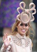 英国王室碧翠丝公主拍卖礼帽捐助儿童事业(图)
