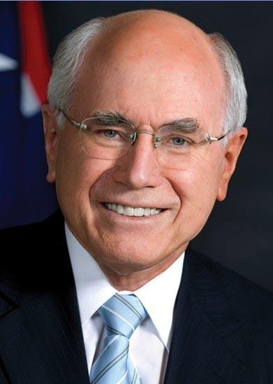 澳大利亚前总理约翰·温斯顿·霍华德(图片来源:中国青年网)