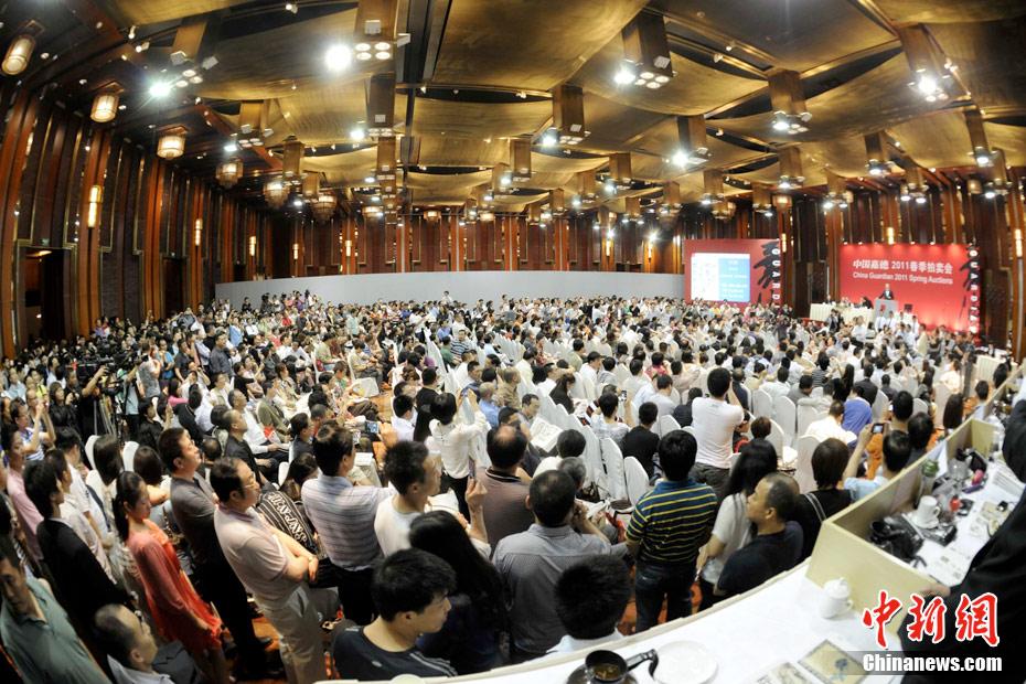 齐白石作品4.255亿成交 破近现代书画拍卖纪录
