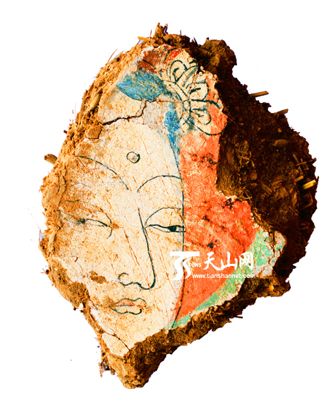 新发现回鹘时期地面佛寺出土的壁画