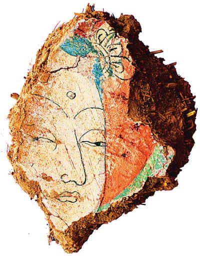 首次考古挖掘新疆吐峪沟石窟寺就有重大发现壁画绢画文书...