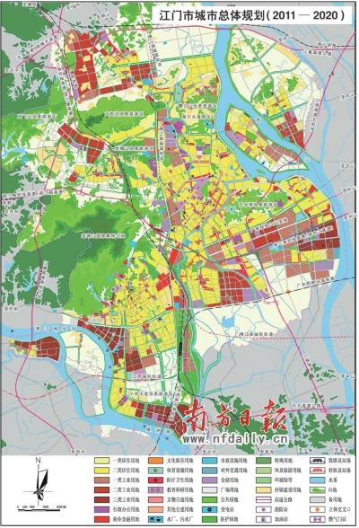广州街区地图 手绘