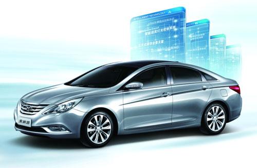 与此同时,针对   北京现代   其他车型置换第八代   索纳塔高清图片