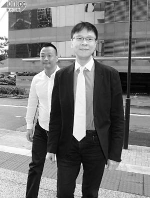 王喜再次陪陈志云到法庭。