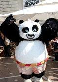 64届戛纳电影节 朱莉性感宣传《功夫熊猫2》