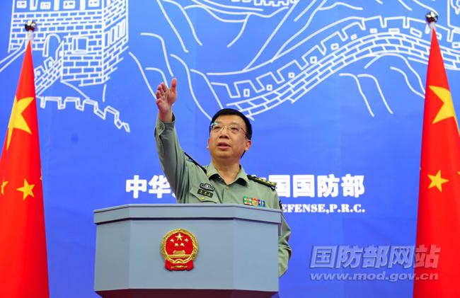 国防部新闻发言人耿雁生对网络安全防护等答问