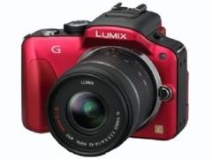 松下LUMIX G3 最轻巧数码单反相机发布