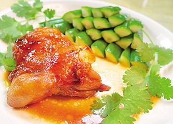 香脂醋风味烤鸡的做法