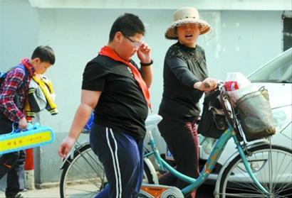 上海儿童肥胖率超高+病源多因祖辈娇宠(图)