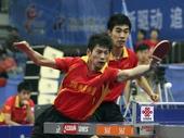 图文:乒超开幕八一3-0上海 周雨反手变直线
