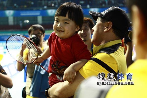 傅海峰可爱儿子