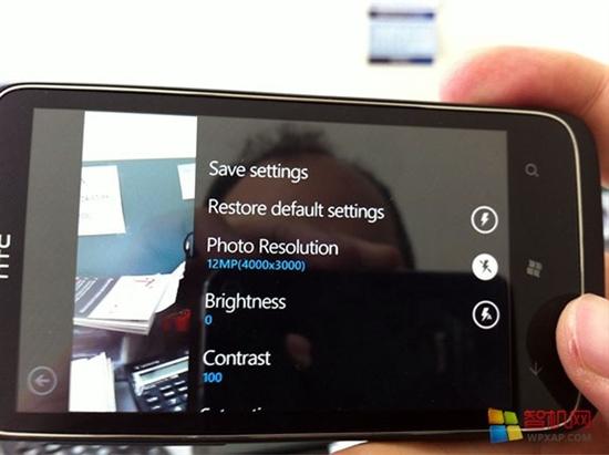 搭载芒果 1200万像素WP7新机HTC Mazaa曝光