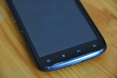 HTC Sensation的Android功能键特写