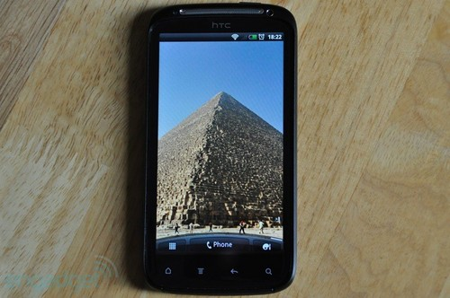 HTC Sensation屏幕显示效果细腻