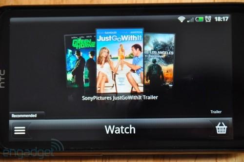 HTC Sensation屏幕为标准的16:9宽屏