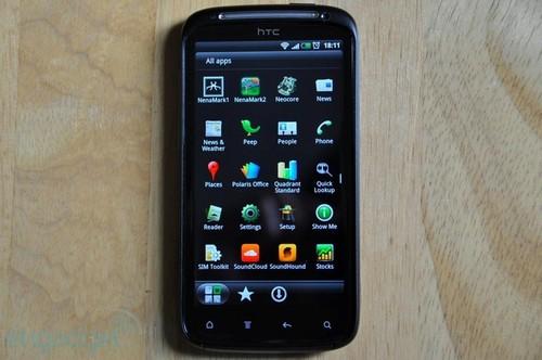 HTC Sensation主菜单界面