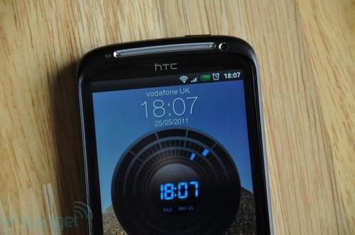 HTC Sensation的解锁界面
