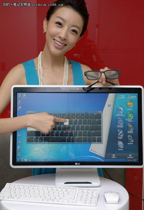 COMPUTEX LG发布iMac外形3D触控一体机