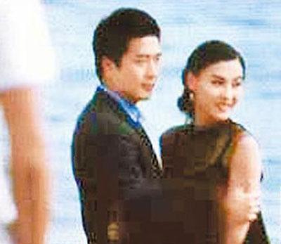 张柏芝(右)昨天(5月31日)与韩星权相佑拍《影子爱人》