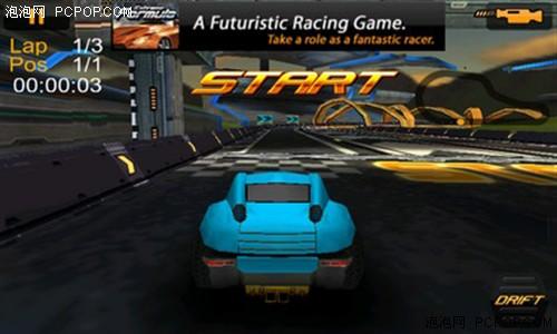 内置的赛车游戏完美支持