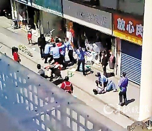 网络疯传无锡城管围殴摊贩视频 4人已被拘(图)