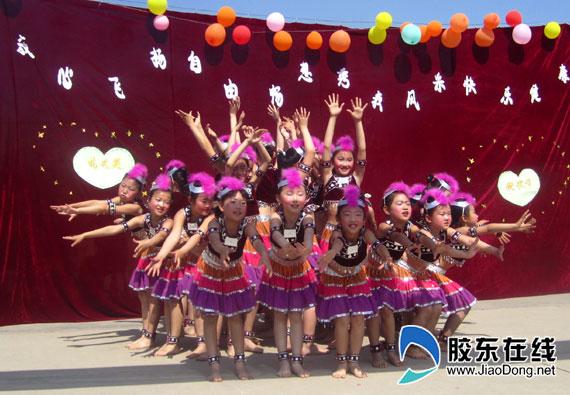 开发区大季家中心小学儿童节v小学丰富多彩(图语文年级小学拓展二图片