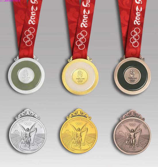 奥运会奖牌图片