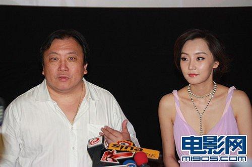 《财神客栈》和片中女主演刘洋,一同来到天津出席某影城的开业庆典