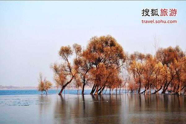 天津蓟县翠屏湖 图片来源:杨晓林(搜狐博客)感谢