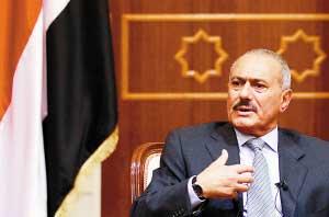 也门总统萨利赫(资料图片)