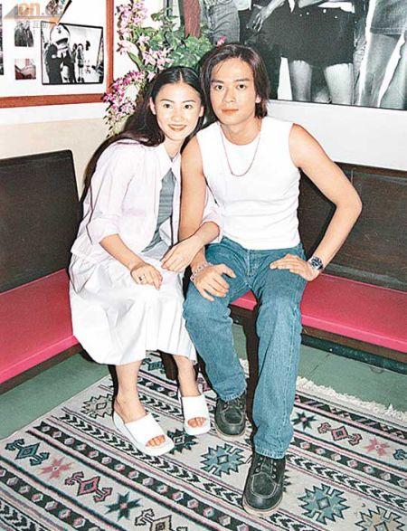 陈晓东是张柏芝最先公开的男友