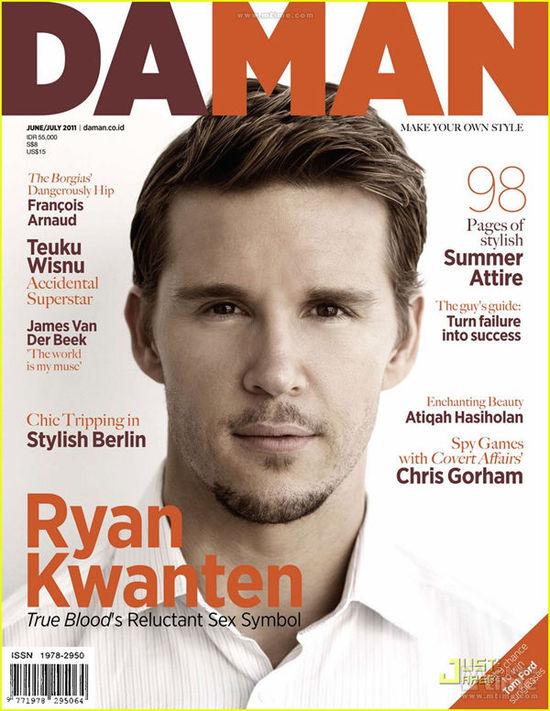 瑞恩·科万腾登上了2011年六/七月《Da Man》杂志的封面
