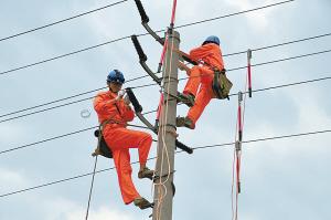市供电公司全力保国庆供电安全