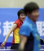 图文:北京1-3山西大土河 丁宁表情无奈
