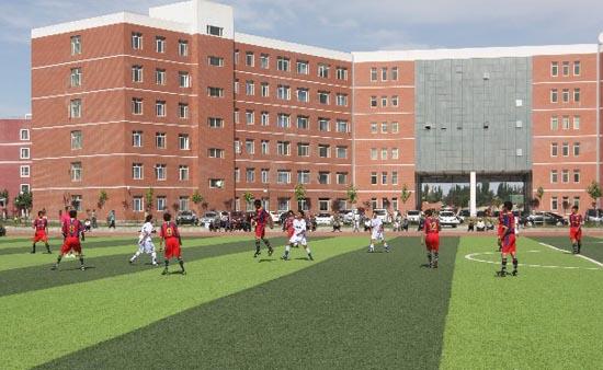 新疆喀什地区青少年校园足球赛激战正酣(图)