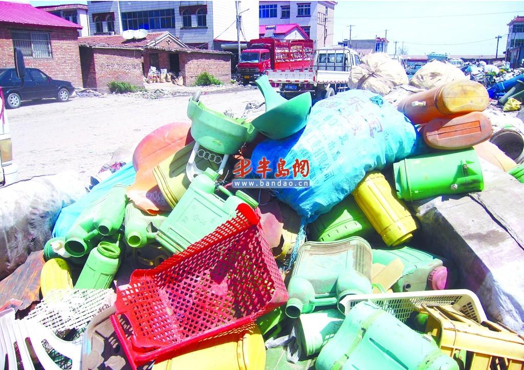 加工厂收医疗垃圾造再生塑料颗粒 根本不消毒