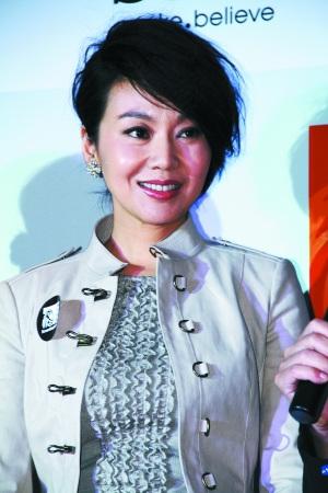 闫妮随《画壁》剧组亮相新加坡影汇。 主办方供图