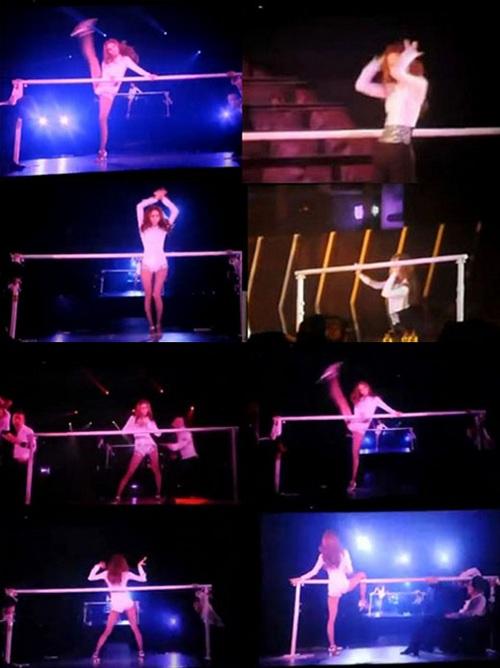 少女时代日本走性感路线 允儿大跳钢管舞 韩娱