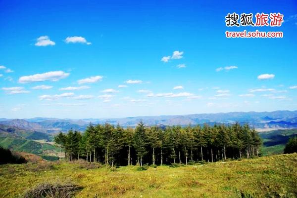 美林谷美景 图片来源:美林谷滑雪(搜狐博客)感谢!
