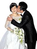 邓超孙俪结婚啦 幸福得真像花儿一样