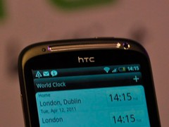 图为 HTC Sensation