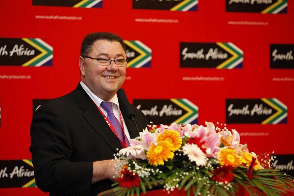 南非旅游局亚太区总经理白文博先生