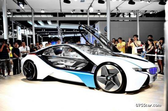 宝马概念车闪耀深港澳国际车展bmw宝创展台(组图)图片