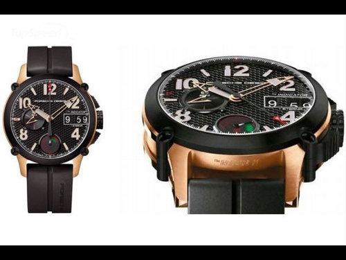 钱很疯狂 德国品牌保时捷手表堪比超级跑车