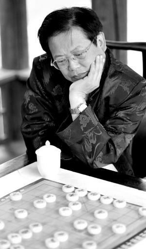 """榆次举行的""""常家庄园杯""""象棋全国冠军混双赛中迎战陶汉明与张国凤组合图片"""