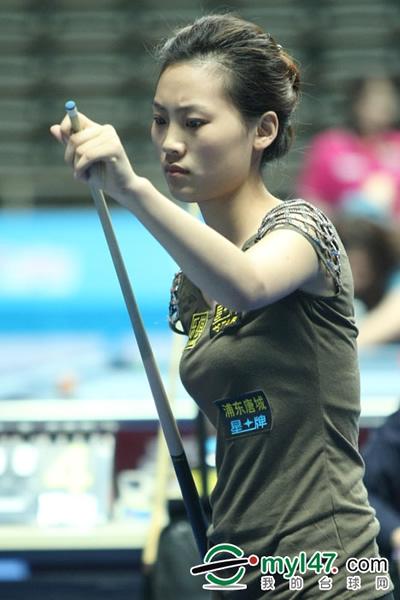小将刘莎莎及时在中国公开赛